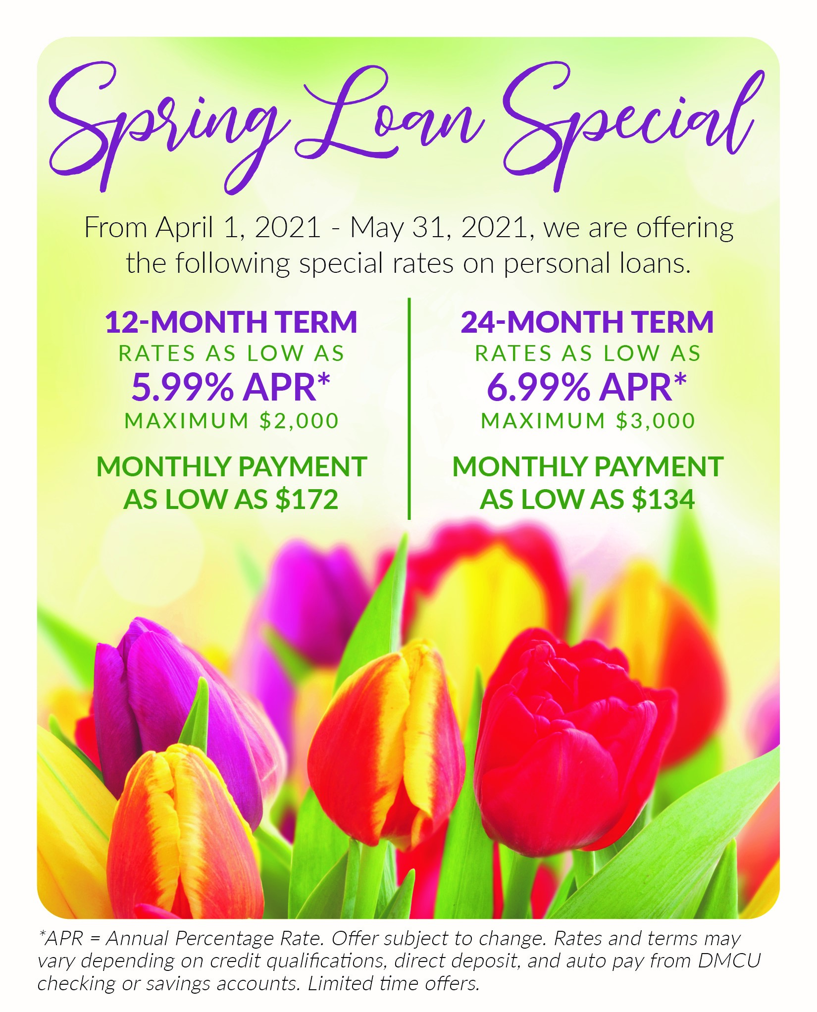 Spring Loan Rate